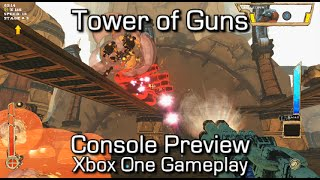 Tower of Guns - Console Preview (Xbox One Gameplay)