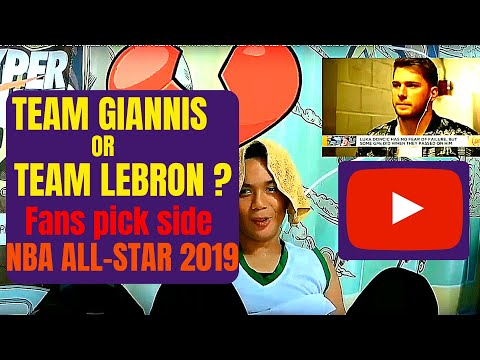 TEAM GIANNIS or TEAM LEBRON? Which Team has more fans?  NBA All-Star 2019 - We asked Filipino fans