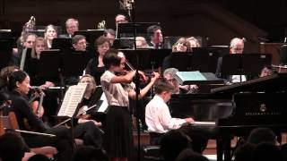 Amelie and Harrison Play Simple Gifts at HHSO Finale thumbnail