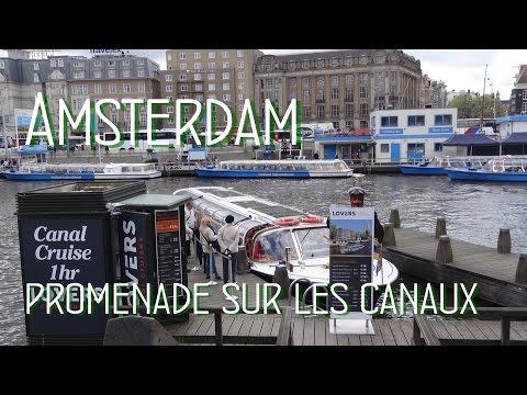 Amsterdam promenade sur les canaux