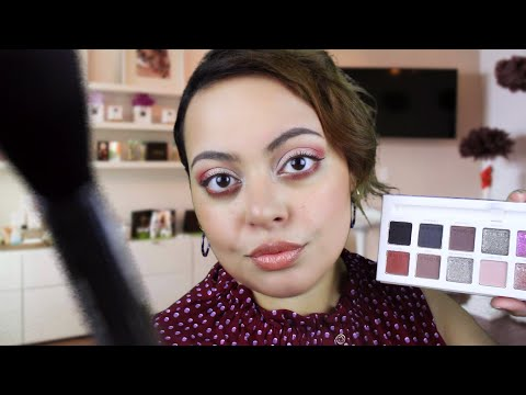 ASMR| Shadow Boutique - Eyeshadow 101 & Application [Soft Spoken] thumbnail