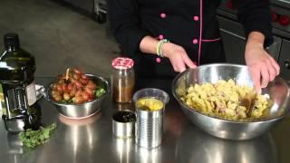 Pasta Tuna Salad With Grapes & Vegetables Recipe : Salad Recipes