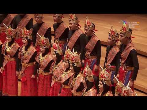 Gita Suradira Youth Choir in SICF 2017 - Hela Rotan