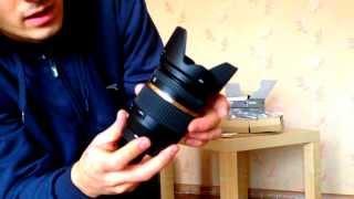 Розпакування та огляд об'єктива Tamron SP AF 17-50mm F/2,8 XR Di II VC LD Asp. (IF)