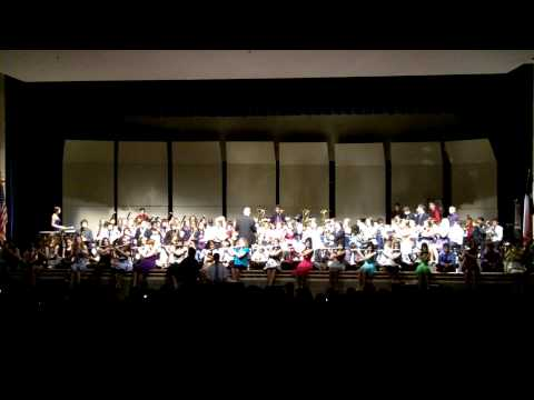 Hudson Middle School Bands - Spring Concert - Sachse, TX - May 17, 2010