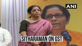 'Can't just damn GST, give solutions for better compliance': Nirmala Sitharaman