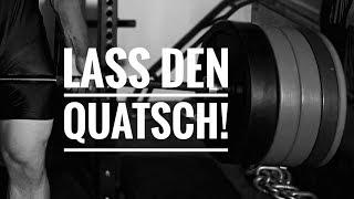 LASS DEN QUATSCH! - Deadlift/Kreuzheben verbessern!