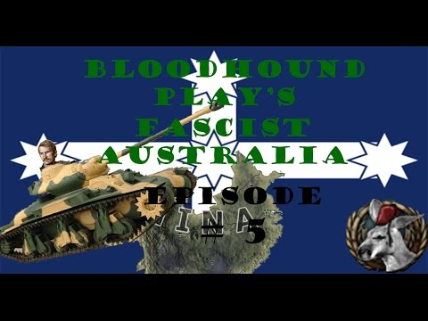 Let's Play Hearts of Iron 4: Fascist Australia Episode 5 - Advance On Chongqing