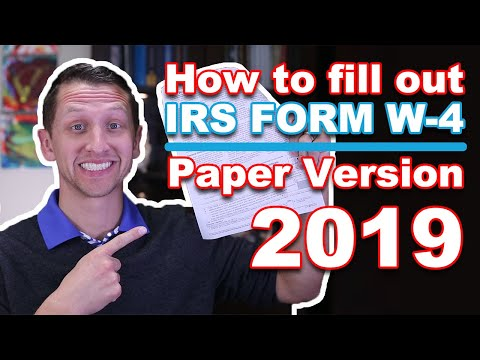 "<span class=""title"">IRS Form W-4 Paper Version 2019</span>"