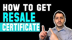 How To Get A Resale Certificate & Tax Exemption For Wholesale Dropshipping