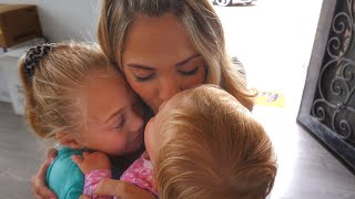 our last 24 hours with Everleigh and Posie :(
