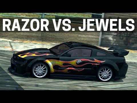Need for Speed: Most Wanted - RAZOR vs. JEWELS Full Race   4K