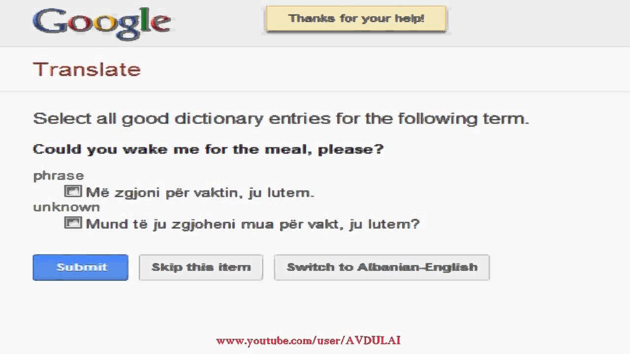 Learn To Speak Albanian Google