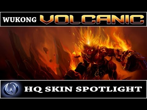 League of Legends: Volcanic Wukong (HQ Skin Spotlight)