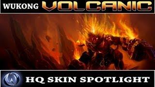 League of Legends: Volcanic Wukong (HQ Skin Spotlight)