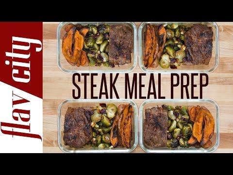 Steak Meal Prep – Healthy Meal Prep Recipe – Beef Meal Prep