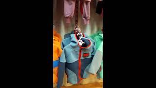 Видео Халаты оптом сделано в Киргизии от 500 рублей, детские костюмы