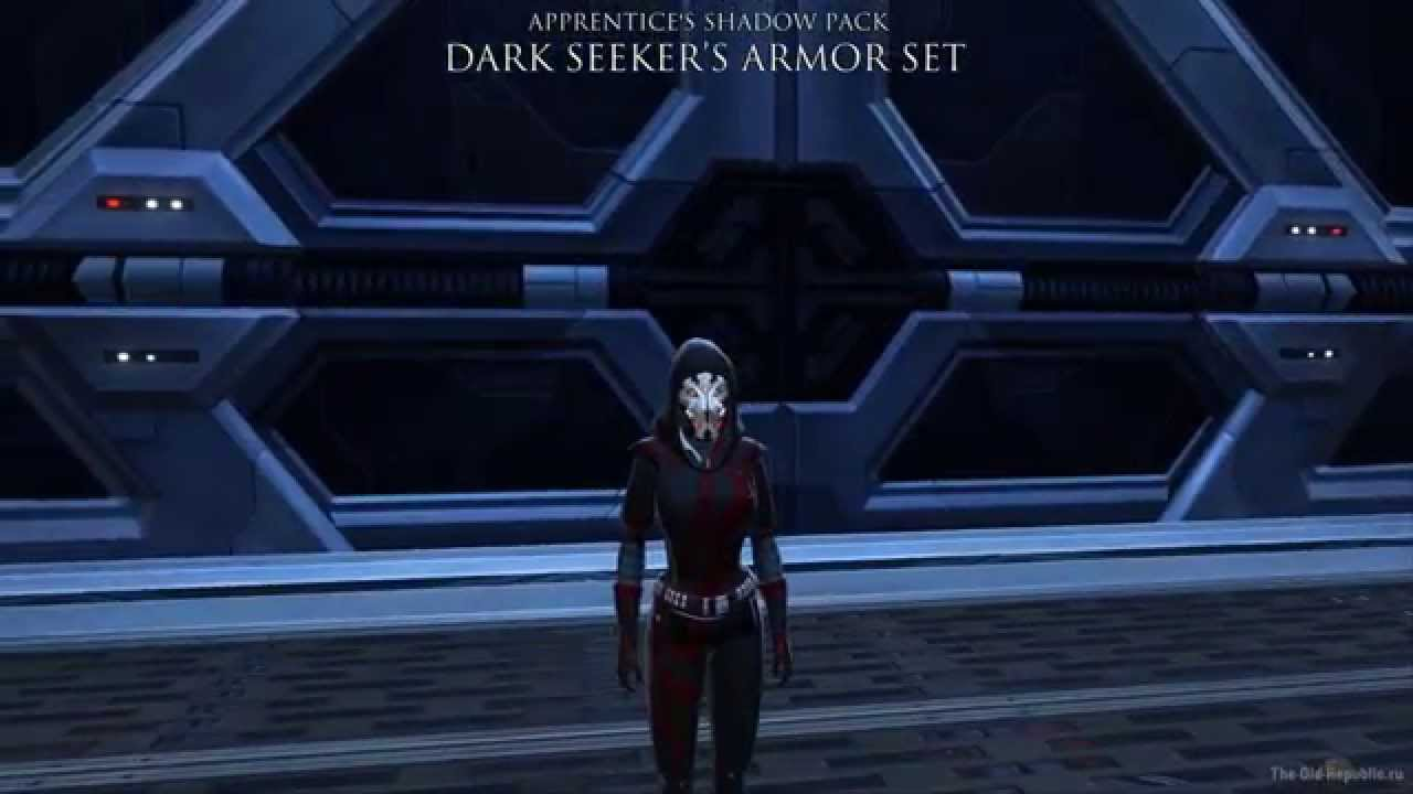 Dark Seekers Armor Set Apprentices Shadow Pack Youtube