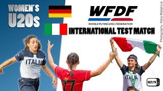 Italy v Germany U20s Women