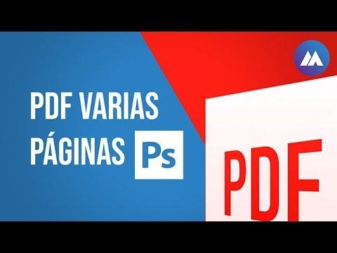 Photoshop A PDF Con Varias Páginas | Tutorial | ManuelAgui.com