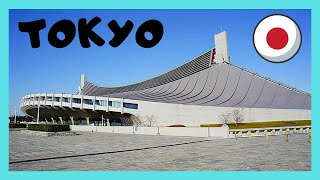 TOKYO, the spectacular Yoyogi National Gymnasium (from the 1964 Olympic Games [and 2020]), JAPAN