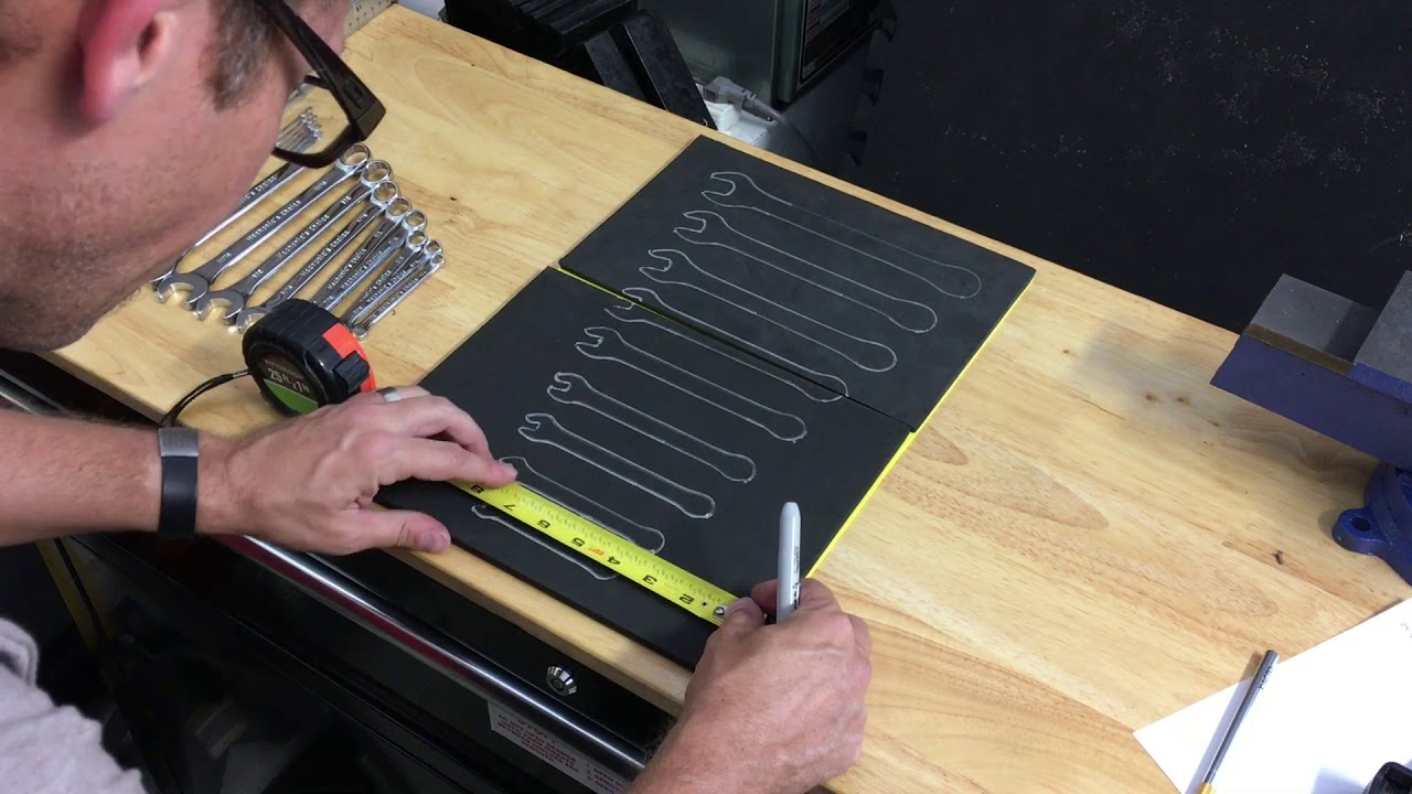 Make Your Own Custom Tool Box Foam Inserts for $3