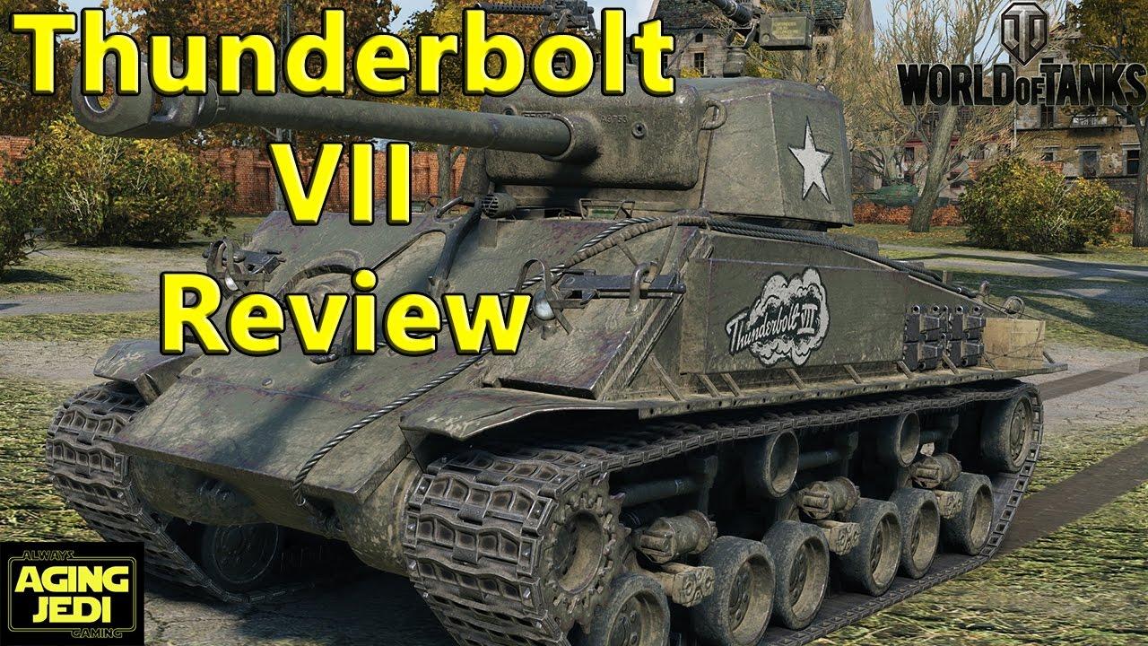 World of Tanks - Thunderbolt VII USA Premium Tank Review ...