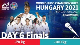 Day 6 - Finals: World Judo Championships Hungary 2021