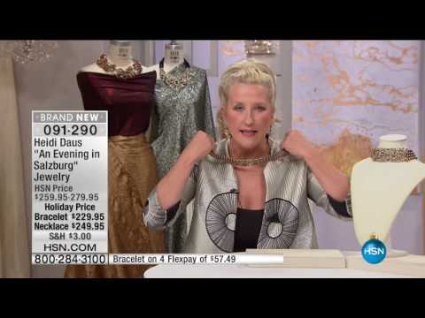 HSN | Heidi Daus Fashion Jewelry Gifts 12.02.2016 - 03 PM