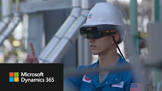 Chevron uses Dynamics 365 Remote Assist and HoloLens to improve performance thumbnail