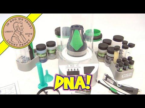 CSI TV Show DNA Laboratory Crime Scene Investigation Lab Kit Toy