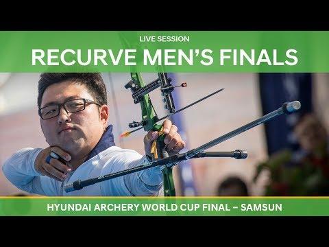 Full session: Recurve Men's Finals   Samsun 2018 Hyundai Archery World Cup Final