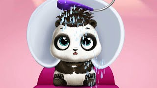 Panda Lu baby Bear City Fun Dress up baby pet and Care - funny pet game