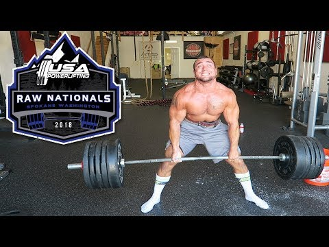Signed Up For My First National Powerlifting Meet!