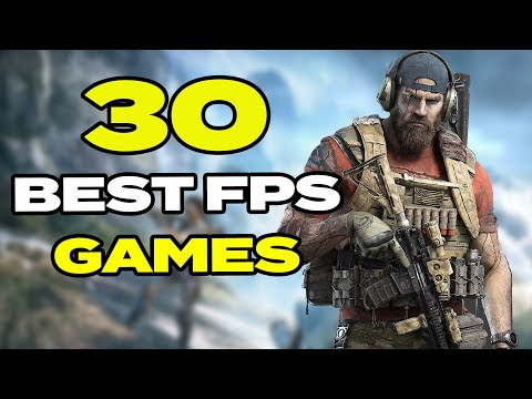TOP 30 BEST Shooter Games For Android & IOS | FPS & Shooting Games