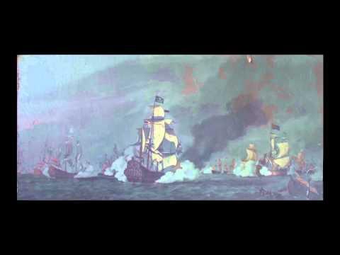 Ship Battle Painting G D