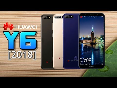 Huawei Y6 (2018) Official Look, Specifications, Features, Price ,Camera, First Look,Launch & More!!