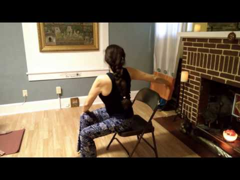 Chair Yoga with Maria Eugenia at Toya