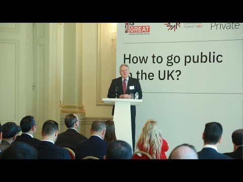 How to Go Public in the UK: Keynote Speeches