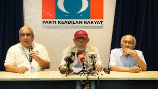 Two PKR candidates warned over breach of ethics