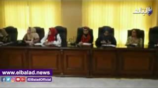 محافظ الفيوم يلتقى بوفد المجلس القومي للسكان.. فيديو وصور