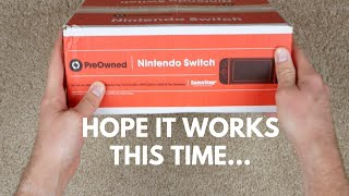 I Bought A Used Nintendo Switch From Gamestop!! (it Was So Expensive )