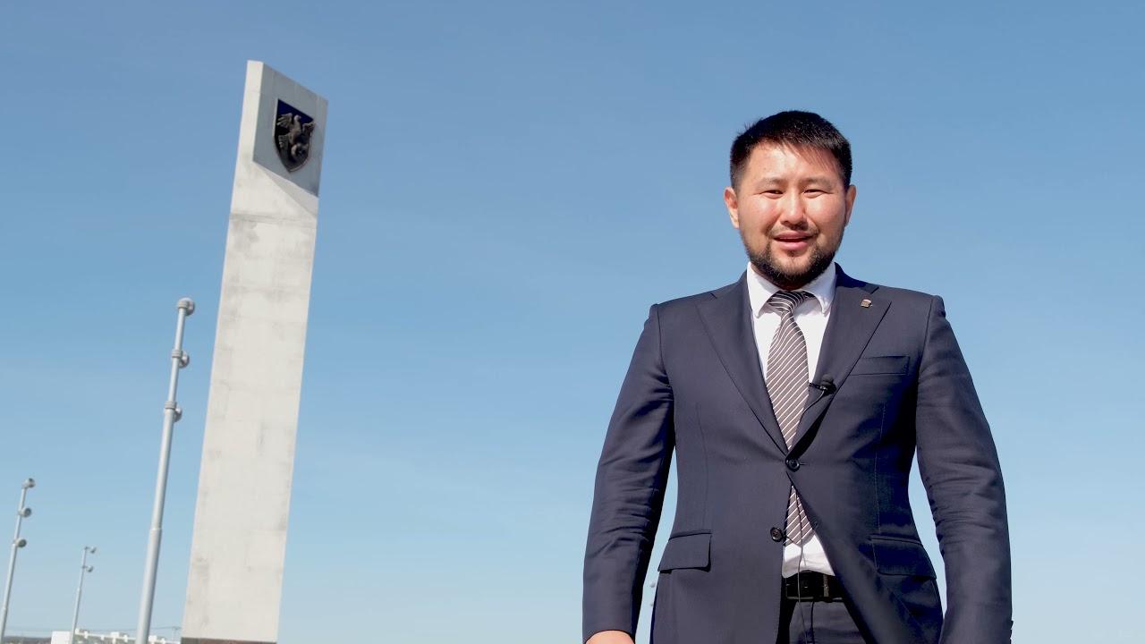 Поздравление Е.Н. Григорьева ко Дню города