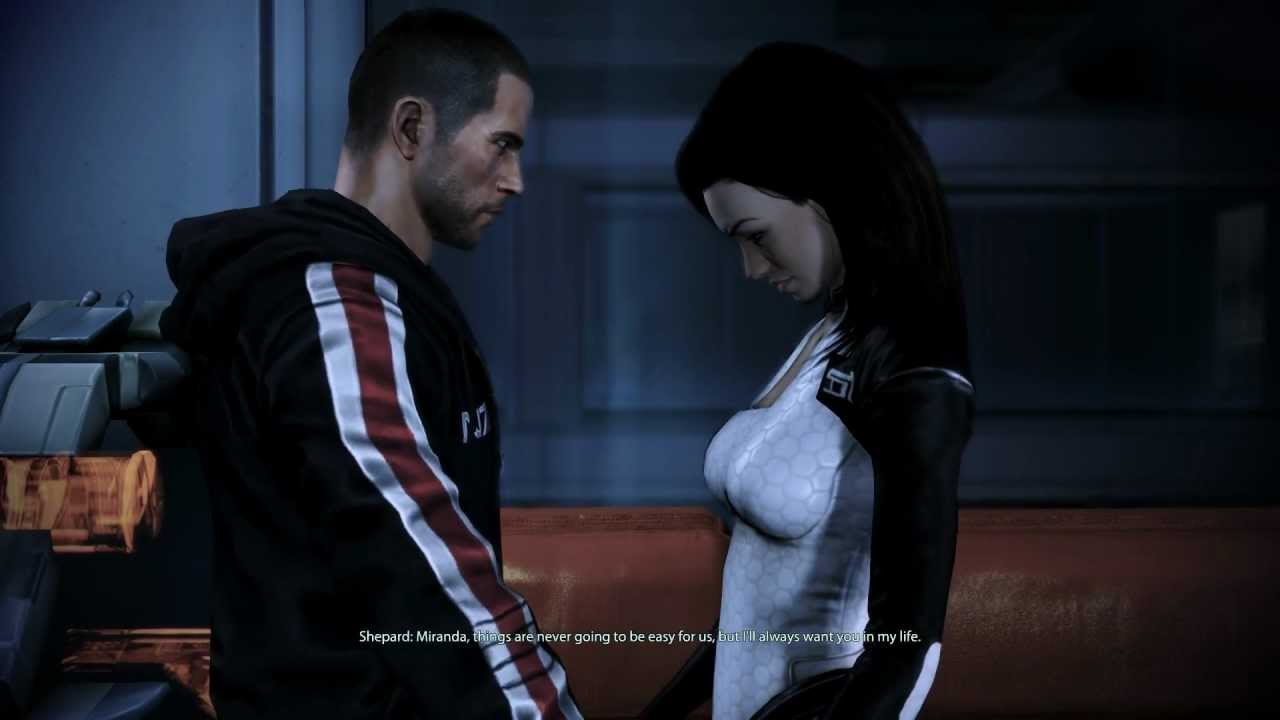 mass effect 3 dating miranda 09022018  this mod seeks to replace miranda's default cerberus body suit with a new,  mehem is a reinterpretation of the endings of mass effect 3,.