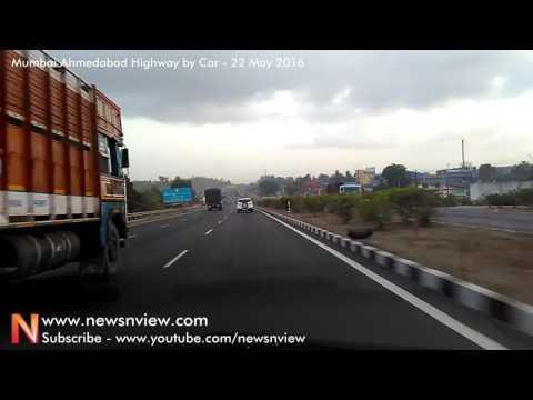 Road Trip to Mumbai NH8 Ahmedabad National Highway Car Driving Video