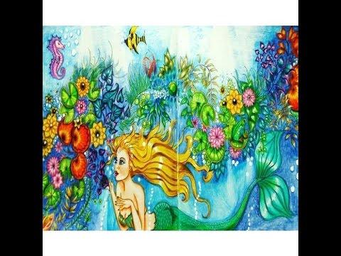 Johanna basford secret garden ef with character youtube - Watch the secret garden online free ...
