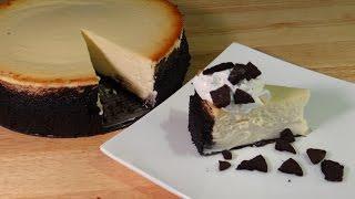Cheesecake Recipe - My Spin On Cookies & Cream Cheesecake