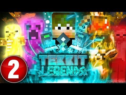 Let's Play - Tekkit Legends Episode 1 (1080p 60fps Gameplay