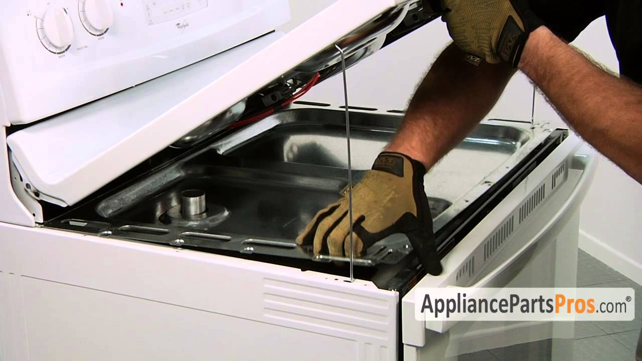Oven Door Latch Part Wp9761013 How To Replace Youtube