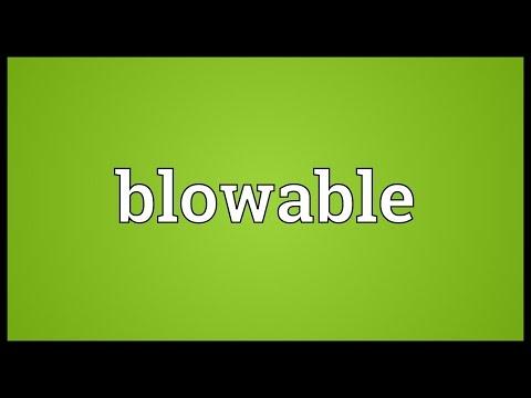 Header of Blowable